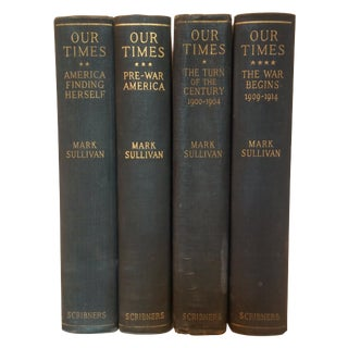 Our Times by Mark Sullivan - Set of 4