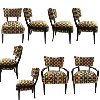 Set of Eight Dining Chairs by Troscan