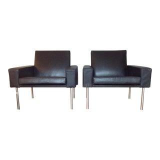 Hans Wegner Ge34 Lounge Mid-Century Chairs