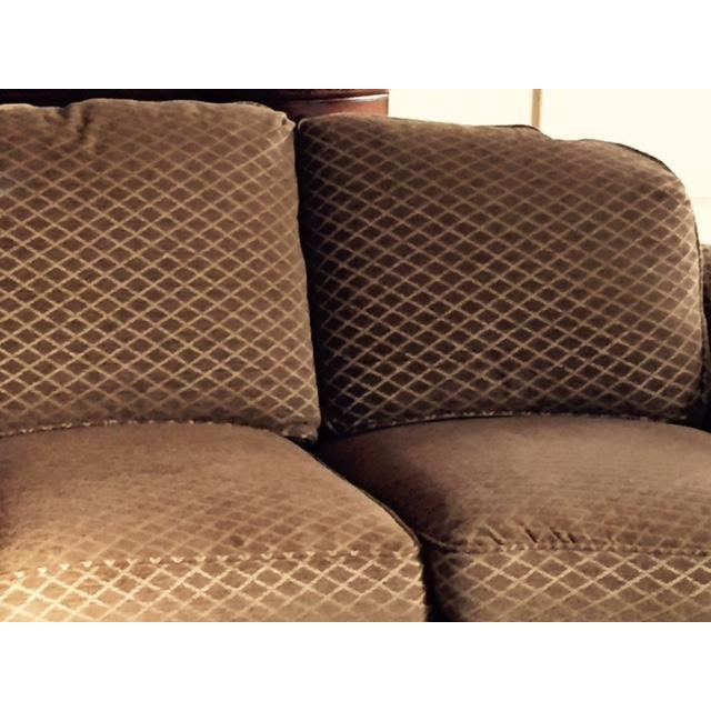 Image of Hancock & Moore Curved Sofas - A Pair