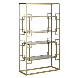 Antique Gold Athens Etagere