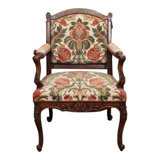 19th Century French Regence Style Fauteuil