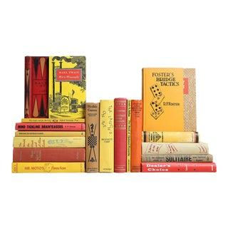 Vintage Fun & Games Book Set, S/19
