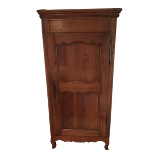 Louis XV Walnut Bonnetiere Armoire
