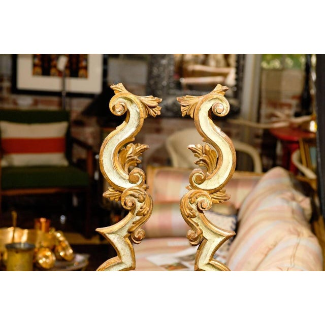 Image of Mounted Italian Architectural Fragments - A Pair