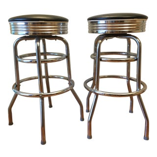 Williams-Sonoma Diner Stools - A Pair