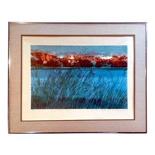 """Sierra Lake"" Serigraph Print by Howard Bradford"