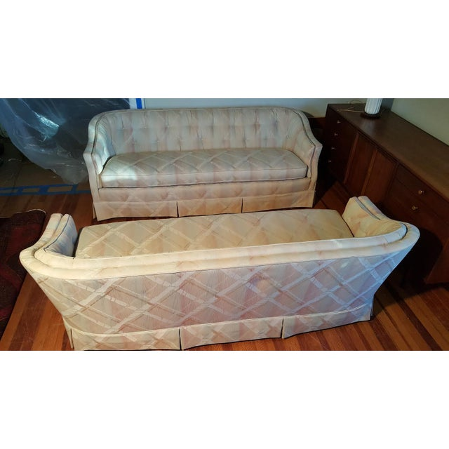 Image of Vintage Henredon Sofas - a Pair