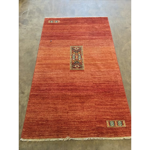 "Gabeh Persian Rug - 3'5"" x 5'11"" - Image 3 of 11"