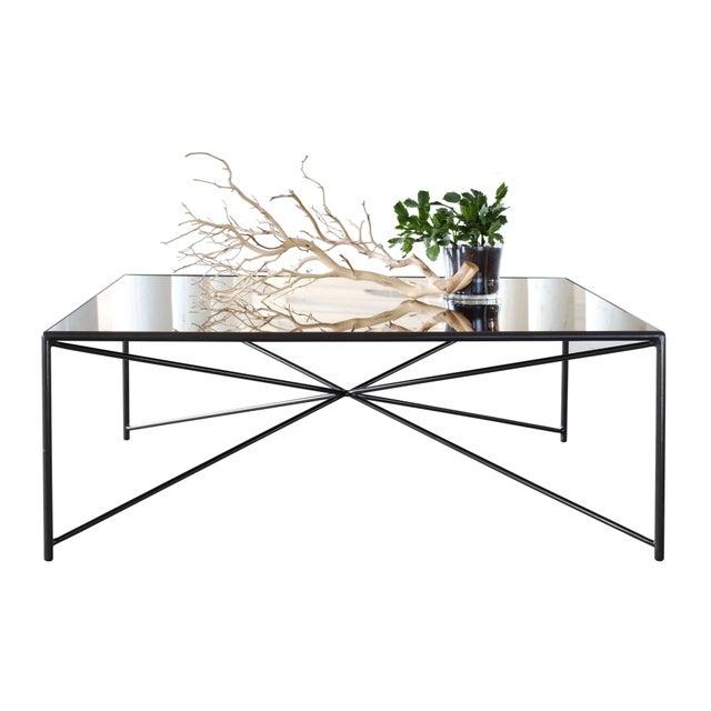 Jax Steel Mirror Top Coffee Table Chairish