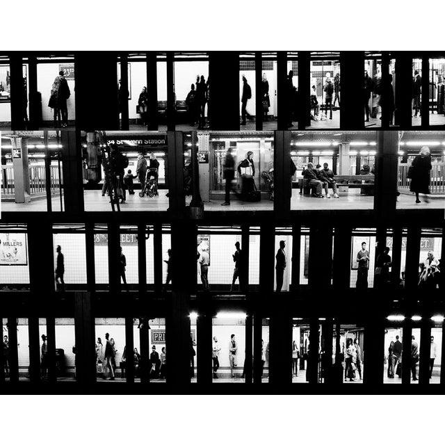 Subway Voyeur New York City Photograph - Image 2 of 2