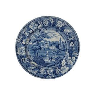 Mid 1800s Englash Transferware Staffordshire Plate