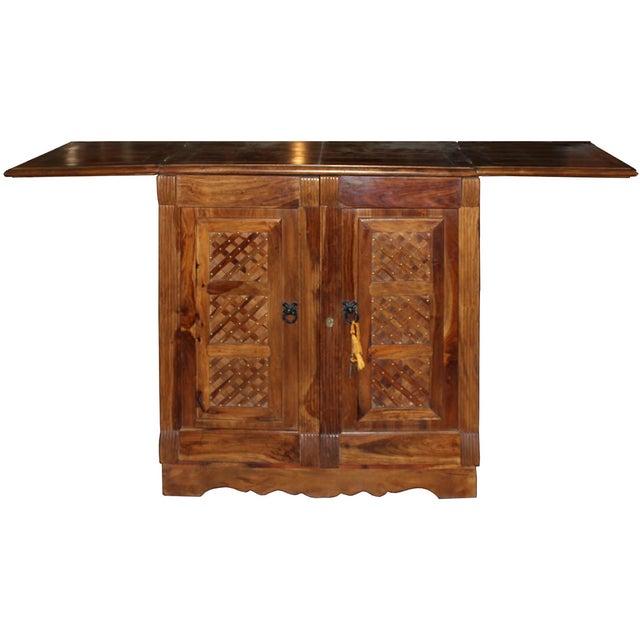 Mango Wood Bar Cabinet - Image 3 of 10