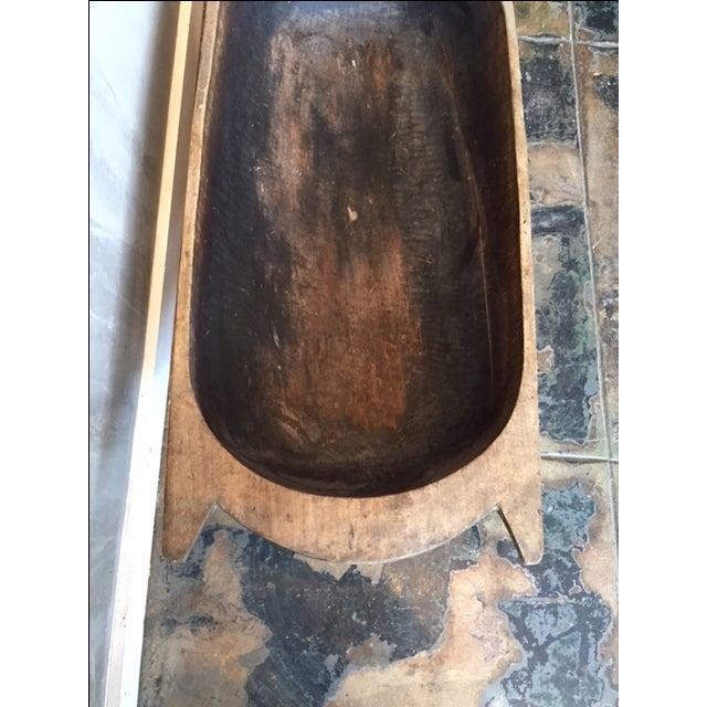 Large Vintage European Dough Bowl - Image 3 of 3