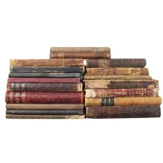 Antique School Books Set of 20