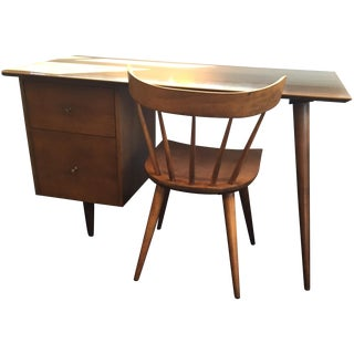 Paul McCobb Desk and Chair for Planner Group