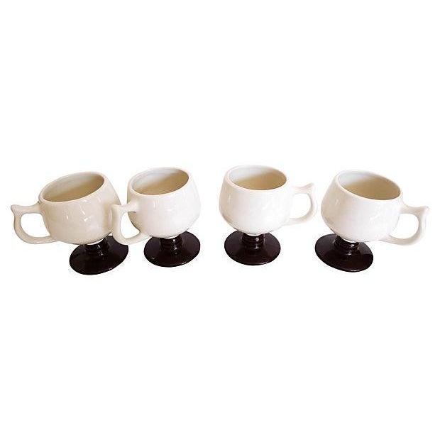 "Image of Marked "" Hall"" Coffee Mugs - Set of 4"