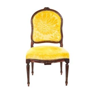 Louis XVI Walnut Chair