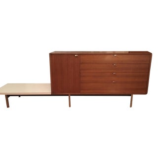 Herman Miller George Nelson Credenza With Attached Table