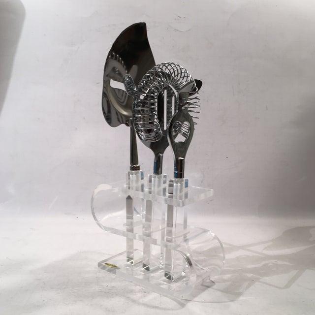 Image of Acrylic Bar Set - 4 Pieces