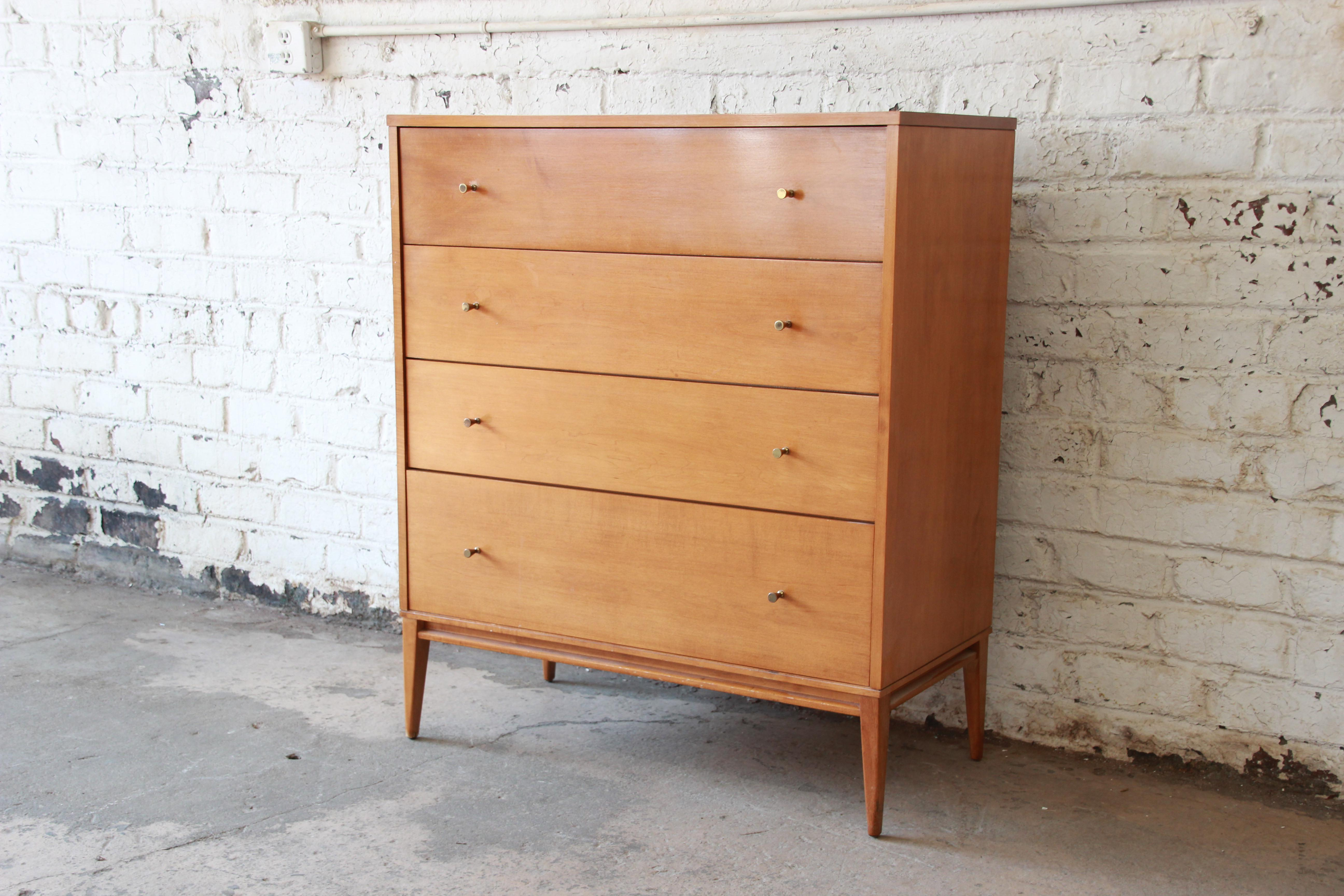 Paul McCobb Planner Group Highboy Dresser For Winchendon Furniture   Image  3 Of 9