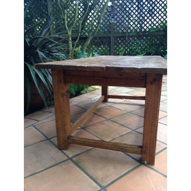 Image of French Antique Pine Coffee Table