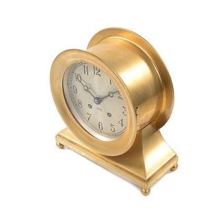 Chelsea Ship's Bell Brass Clock, 1930s