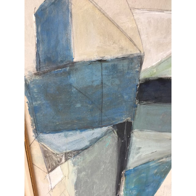 Large Geometric Abstract by Kimberly Moore - Image 4 of 5