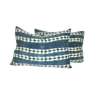 Vintage African Indigo Pillows