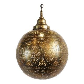 Deco Brass Ball Lantern