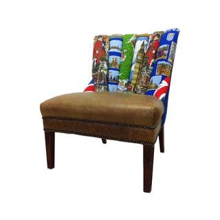 Brit Pop Channel Back Chair