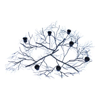 Black Twig Branch Table Candleabra