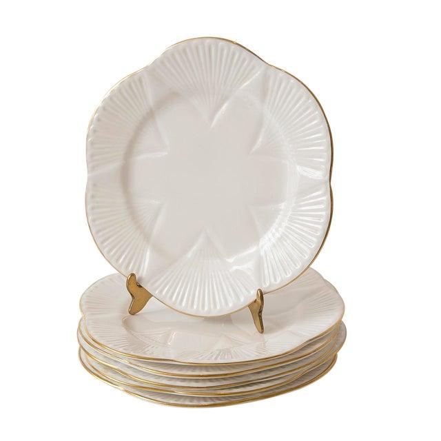 Vintage Shelley Fine Porcelain Dessert Plates -S/6 - Image 1 of 9