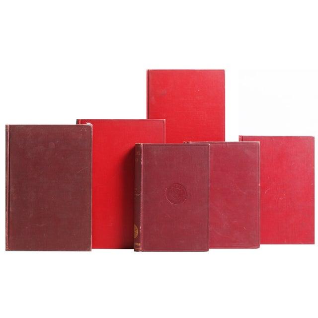 Image of Gilt & Burgundy World History Books - Set of 21