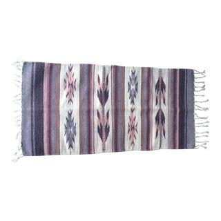 Vintage Native American Navajo Style Rug - 1′10″ × 3′11″