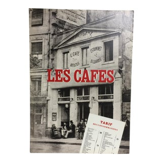 """1985 """"Paris Cafes Their Role in the Birth of Modern Art"""" Book"""