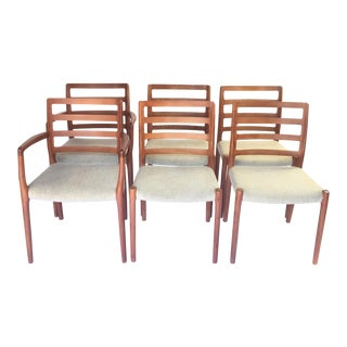 Jl Moller Dining Chairs - Set of 6