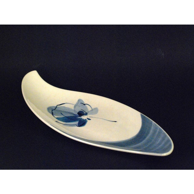 Felix Tissot Blue & White Mexican Dish - Image 4 of 8