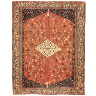 Exceptional Rare & Early Antique Early 19th Century Serapi Carpet