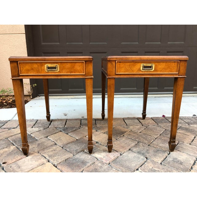 Century Vintage Nightstands - A Pair - Image 2 of 9