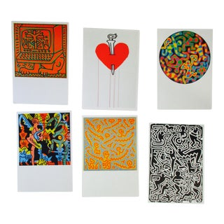 Keith Haring Postcards - Set of 6