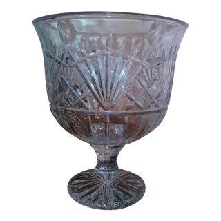 Irish Artisan Crystal Centerpiece or Wine Bucket