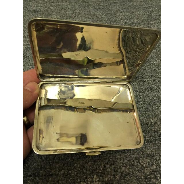 Siamese Sterling Cigarette Case - Image 3 of 6