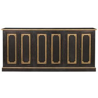 Sarreid LTD Bellagio Black & Gold Sideboard