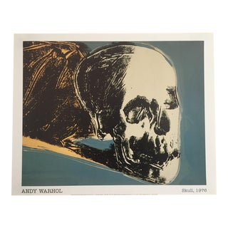 Andy Warhol Original Offset Lithograph Print Poster, The Skull