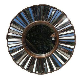 Rubbed Bronze Mirror