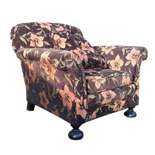 Vintage Floral Club Chair