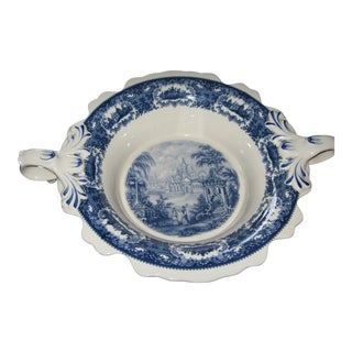 Staffordshire European Serving Plate