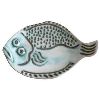 Handmade Fish Platter by Maury
