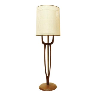Modeline Mid-Century Modern Walnut Floor Lamp